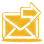 yellow-mail-send-icon