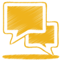 yellow-talk-icon